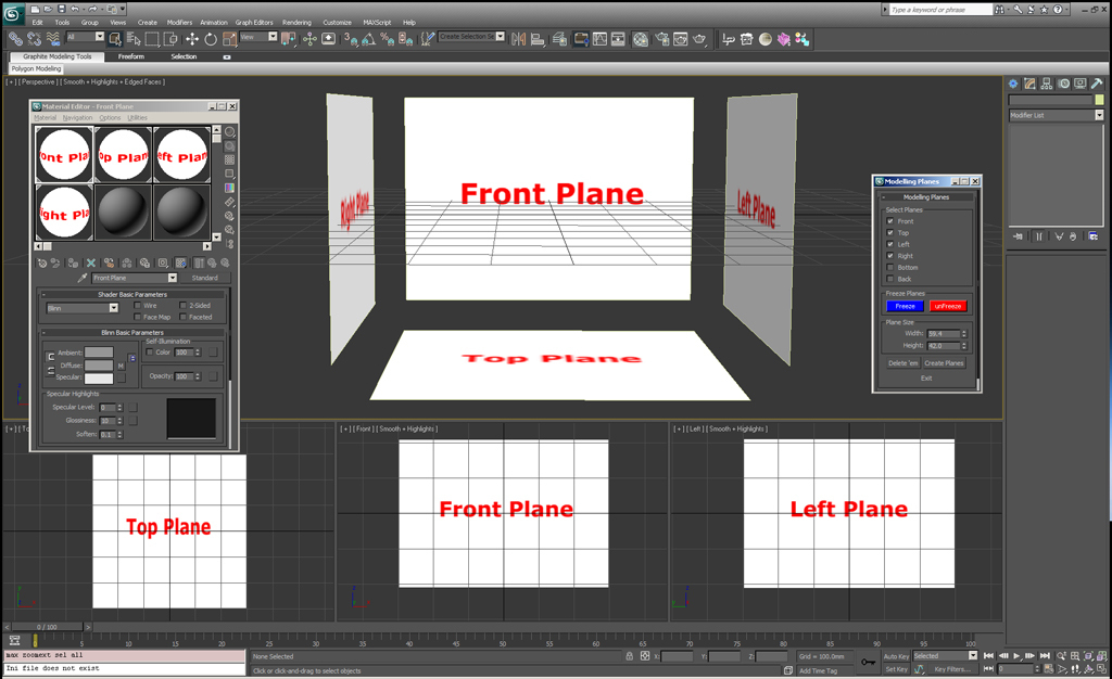 Image Planes script by lucpet | 3D | CGSociety