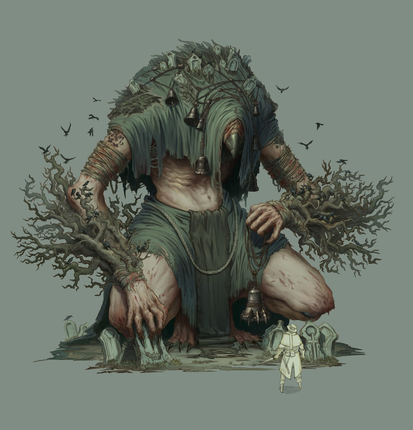 Crow Creature by MrFr2eman | Creatures | 2D | CGSociety