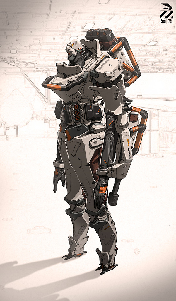 Exoskeleton for an droid?