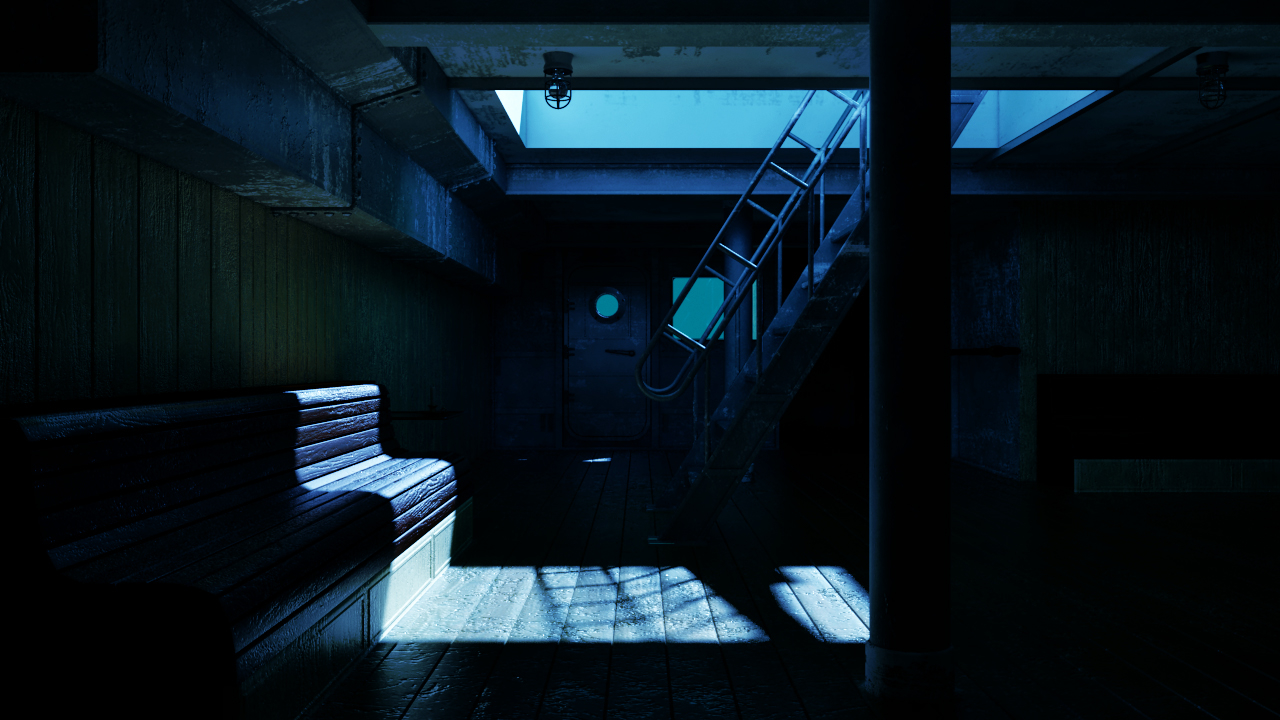 HMS Hope – Moonlight