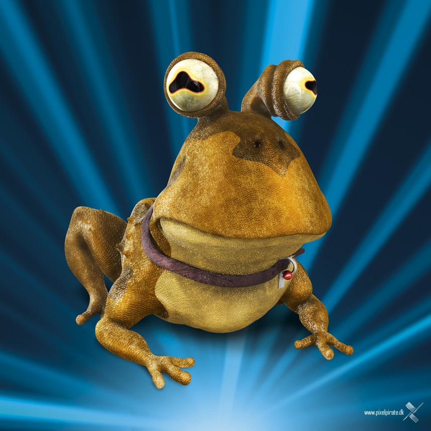 Пропала жаба-гипнотизер картинка
