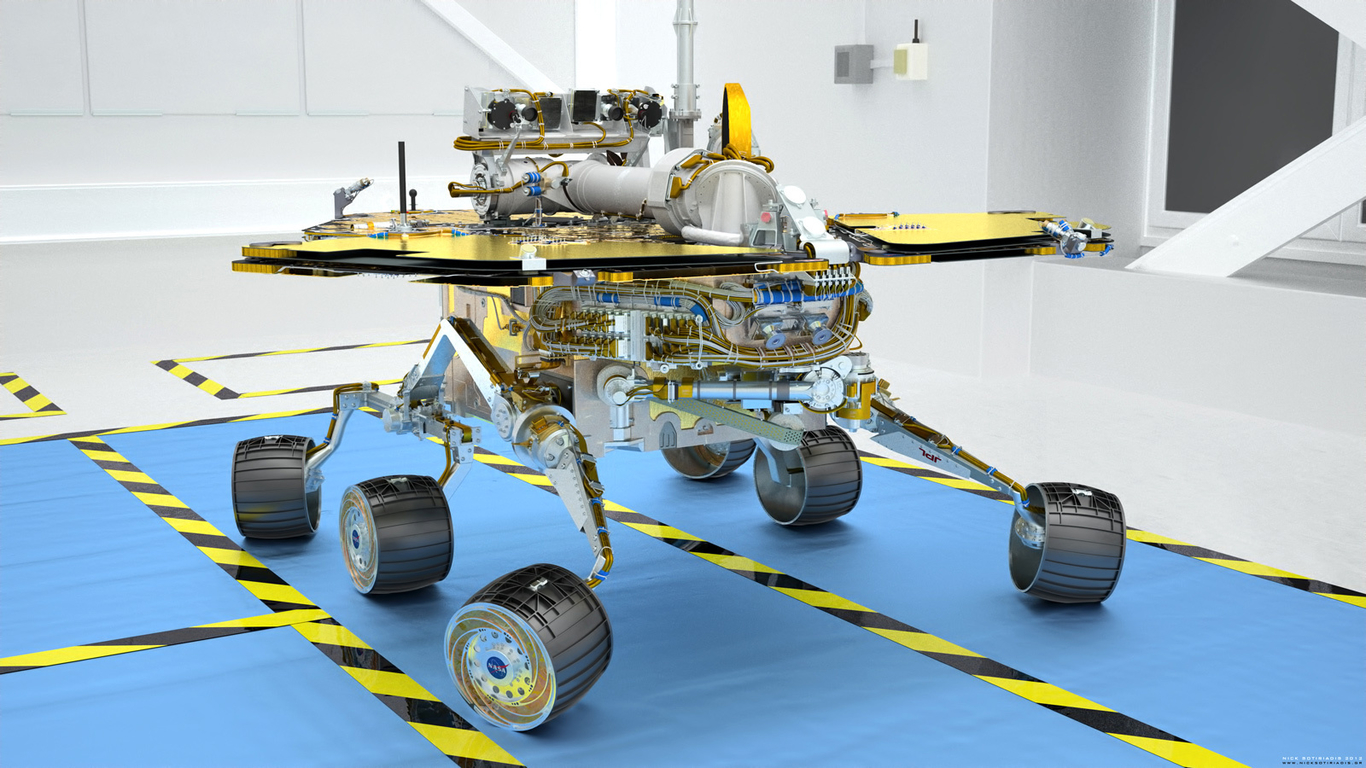 mars rover spirit - HD1366×768
