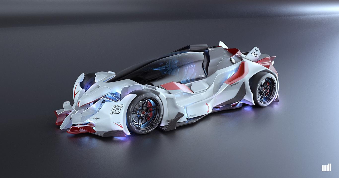 Simultan cristiano concept car for the  1 86d5a7b2 qoel