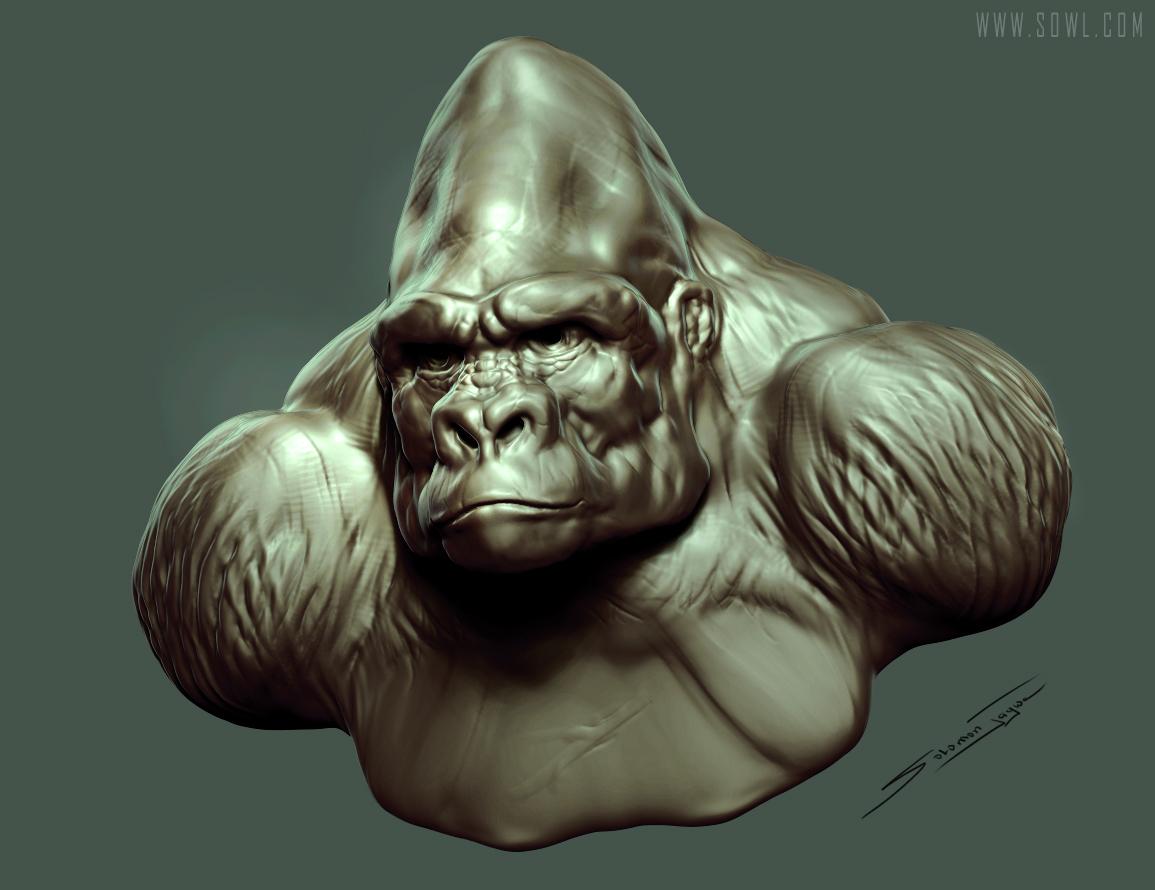 Solomon gorilla king bust 1 74b25b5f jobv
