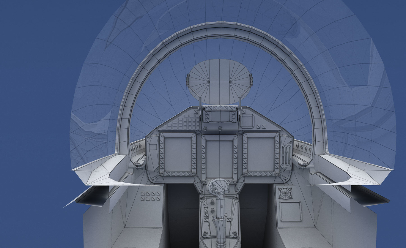Eurofighter Typhoon cockpit by tomycurti | Art | 3D | CGSociety