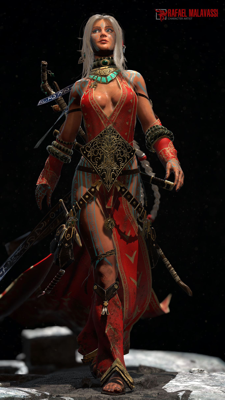 Seoni - Pathfinder Iconic Sorcerer 3 by Torekrafael