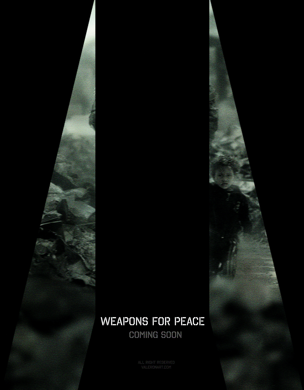 WEAPONS FOR PEACE - NEW OFFICIAL POSTER