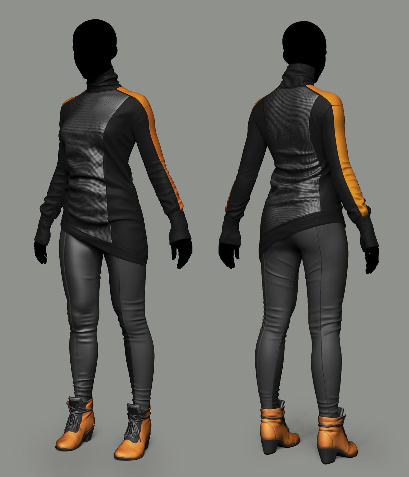cyberpunk wear