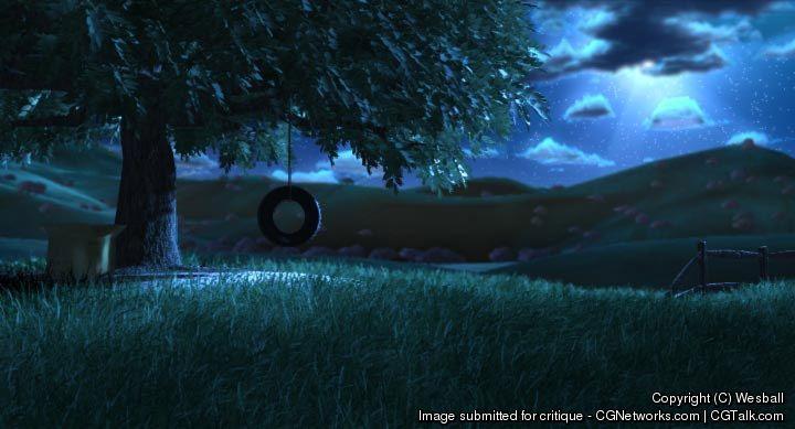 Wesball nightime scene wesba  6c86f5bd 54z2