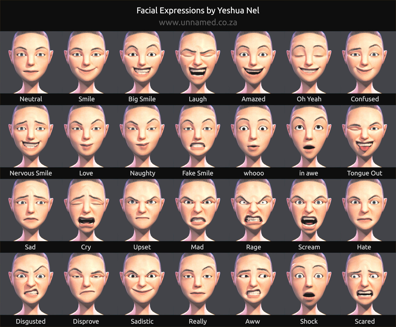 Read facial expressions mac, thick nude light skinned girls