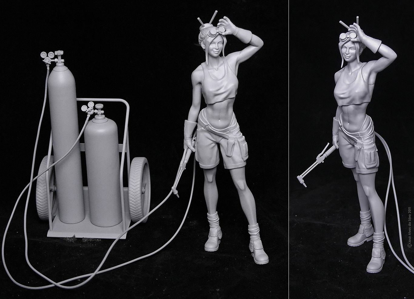 Zeoyn welder girl 3d print 1 1c8705dc pjju