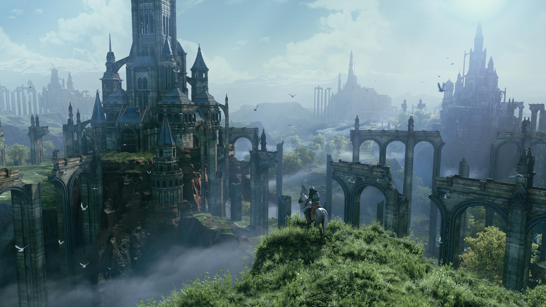悬崖上的城堡