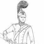 Military sketches.
