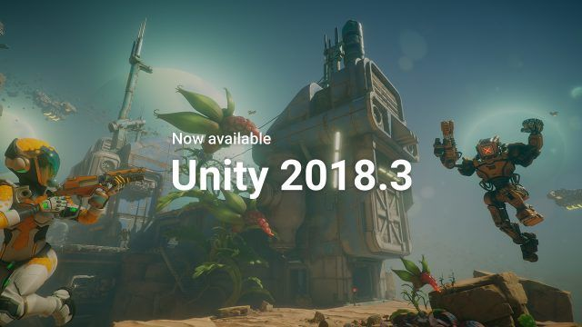 Unity 2018 3 Now Available - article   CGSociety