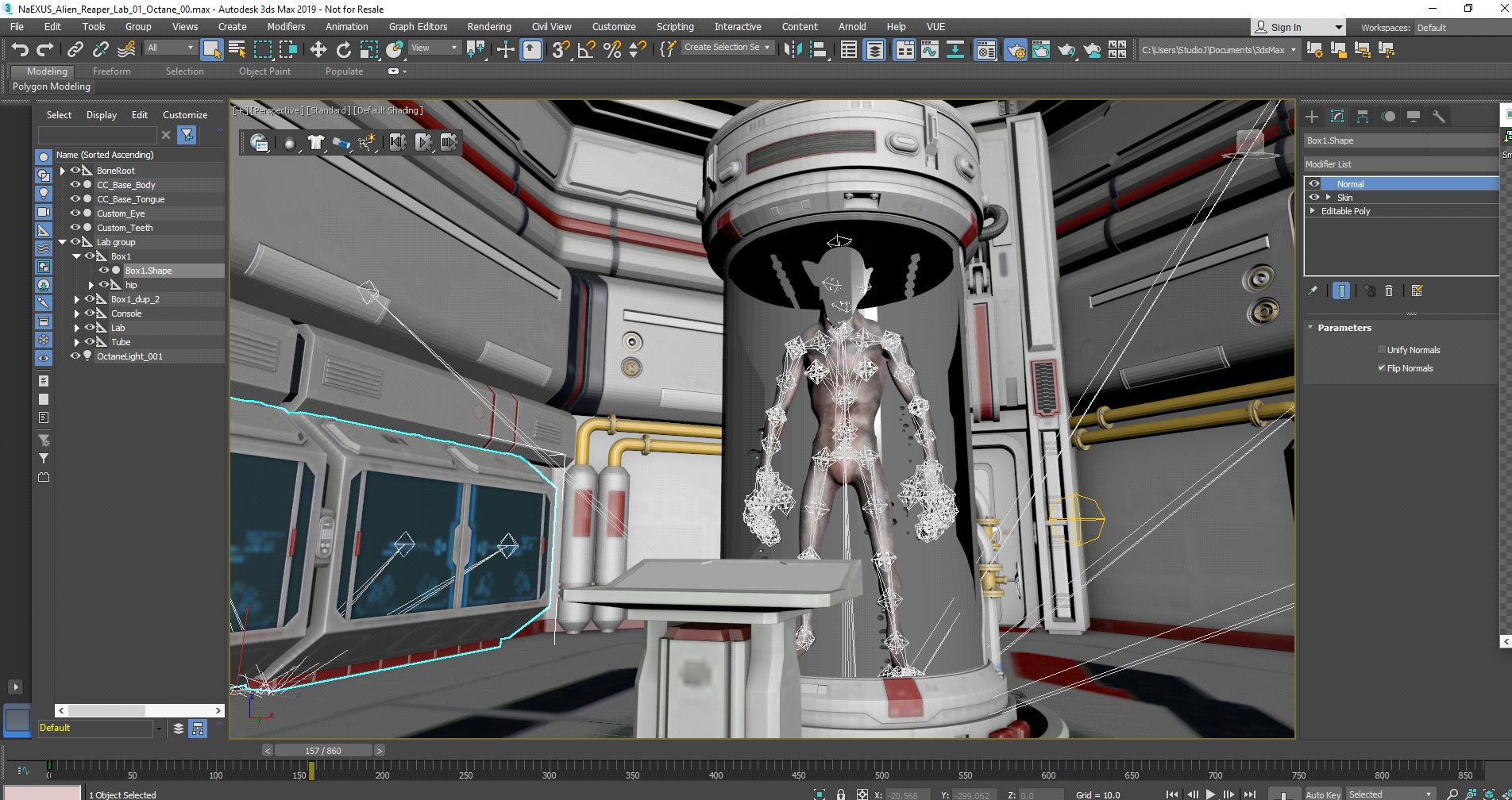 Creating a 3D Sci-Fi Short in 30 Days - article | CGSociety